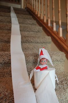 "Looking for some ideas for a BAD elf on the shelf? Sometimes older kids doing the elf on the shelf tradition will think these ""elf gone bad"" poses are pretty funny. Even though these elves may be ..."