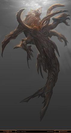 God of War - Scylla 2 by Raggedy-Annedroid.deviantart.com on @deviantART