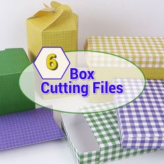 Brother Scan n Cut – 6 Box Cutting Files