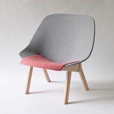 """Sprung Lounge Chair by Studio Gorm #minimalism #minimal #minimalist #furniture #chair #leibal"""