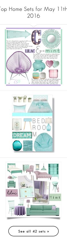 """""""Top Home Sets for May 11th, 2016"""" by polyvore ❤ liked on Polyvore featuring interior, interiors, interior design, home, home decor, interior decorating, Florence Broadhurst, Safavieh, New Look and Rosanna"""