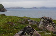 fog in the distance... lol - it always happens - Cape Spear