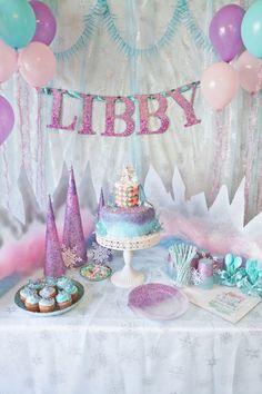 Tip para decorar una celebración de cumpleaños Frozen