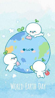 World Earth Day #kawaii #earthday