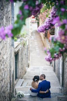 Rebecca and Ash's Luxury Harbour Side wedding in Croatia by The Bridal Consultant
