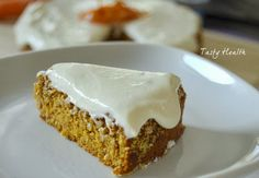 Tasty Health- (almost) paleo carrot cake