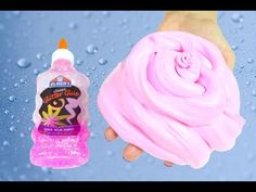 Elmer's Glue Fluffy Slime Without Borax , How to Make Fluffy Slime With Elmer's Glue No Borax - YouTube