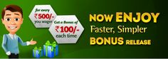 Now enjoy faster,simpler bonus release at #ClassicRummy . https://www.classicrummy.com/indian-rummy-new-bonus?link_name=CR-12