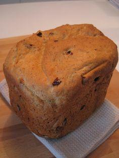 A Festa de Babette: Pão de Forma Integral com Passas