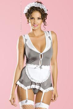 Купить костюм горничной obsessiv housekeeper в интернет-магазине SexshopXL.ru