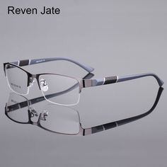 49f53e504d Cheap frames for men, Buy Quality optical eyeglasses frame directly from  China eyeglass frames for men Suppliers: Reven Jate 8850 Half Rim Alloy  Front Rim ...