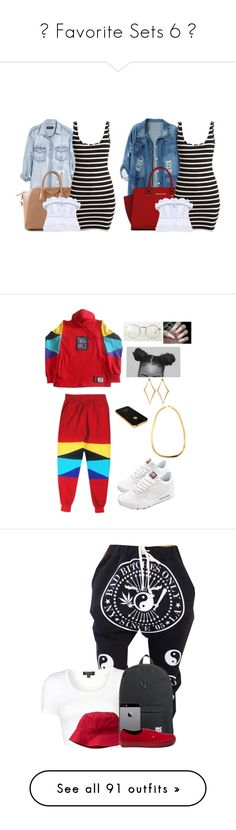 """""""♥ Favorite Sets 6 ♡"""" by fingerfckmyswag ❤ liked on Polyvore featuring Chicnova Fashion, Monday, Michael Kors, Givenchy, NIKE, Dinny Hall, Topshop, Gap, Herschel and Vans"""