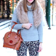 A Gap sweater as featured on the blog The Right Shoes.