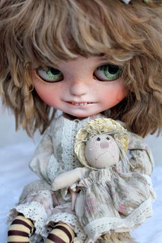 Amalka OOAK Custom Icy Doll by Meadowdoll por meadowdolls en Etsy