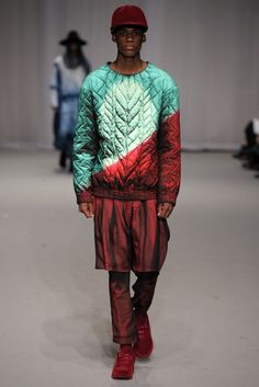 Bastian Visch - KABK fashion - I like this sweater @quentijnW