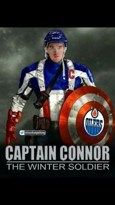 Looks like a job for CAPTAIN CONNOR!!!