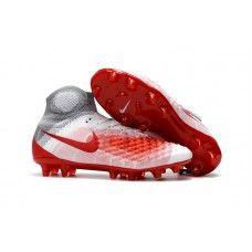Nike Magista Obra II FGOld Nike Magista Obra II FG Soccer Cleats - White Red b22d6e948c2f1