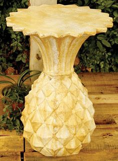 Fun Pineapple Plant Stand from Frontgate.