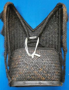 Filipino Ifugao Igorot rattan wood Big Tribal Backpack/basket Philippine - Other Art Pictures, Art Pics, Filipino, Wood Art, Rattan, Louis Vuitton Monogram, Old Things, Backpacks, Tote Bag