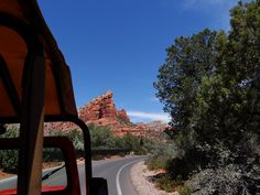 """Remember to ride the """"Red Jeep Tour"""" in Sedona AZ, it's really worth it"""