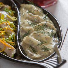 Senapssill - enkelt och gott recept   Mitt kök Soup, Meat, Chicken, Ethnic Recipes, Soups, Cubs