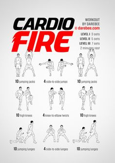 cardio workouts Think Working Out And Getting In Shape Requires Spending Hours In The Gym Each Day? Discover How To Quickly Melt Your Extra Fat, Build Muscle, And Get In Short Workouts, Gym Workouts, Crossfit Workouts For Beginners, Cardio Training Zu Hause, Cardio Workout At Home, Cardio Exercises At Home, Cardio Hiit, Hitt Workout, Aerobic Exercises