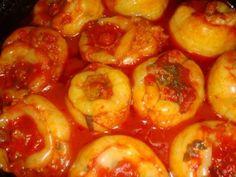 Pepper Recipes, Shrimp, Stuffed Peppers, Meat, Vegetables, Food, Hot Pepper Recipes, Stuffed Pepper, Veggie Food