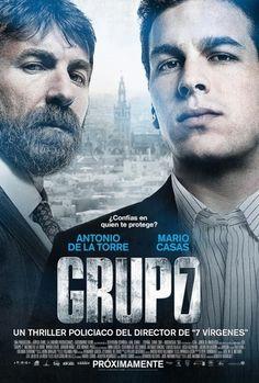 GRUPO 7 de Alberto Rodríguez, que se estrenó el pasado día 4, es una de las películas que forman parte del cartel de Cine Accesible 2012. La accesibilidad de esta película es posible gracias a la colaboración de Atípica Films y de Warner Bros.