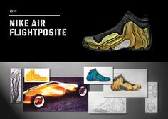 hot sale online 55df8 8d30a 20 Years Of Nike Basketball Design  Air Flightposite (1999)