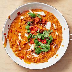 Puolen tunnin kasviscurry on todellinen arjen pelastaja Vegan Vegetarian, Paleo, Vindaloo, Garam Masala, Main Dishes, Curry, Ethnic Recipes, Student Food, Drinks