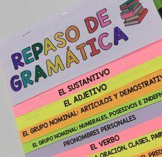 flipbook para repasar gramática Grammar Activities, Flipped Classroom, Classroom Ideas, Study Inspiration, Spanish Lessons, Interactive Notebooks, Anchor Charts, Creative Writing, Homeschool
