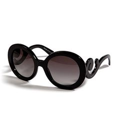 Des lunettes baroques prada