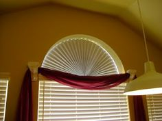Frazzled Mom and Friends: A Creative Solution to Cover Half-Circle (Arched) Window