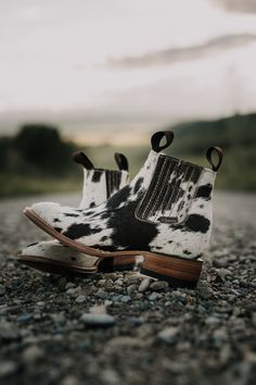 You need a pair of Stiefeld's cowhide ankle booties for upcoming NFR! Practical, durable, comfortable, and of course uniquely one of a kind due to the hide variation.