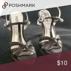 Unlisted black heels Unlisted black heels size 8 Unlisted Shoes Heels