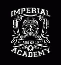 Imperial Academy Tie Fighter - BustedTees - Image 0