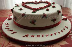 0 Anniversary Cake Designs, Desserts, Food, Tailgate Desserts, Dessert, Postres, Deserts, Meals