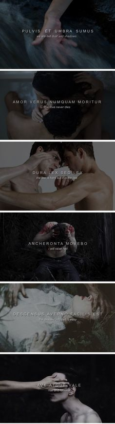 The Shadowhunter Chronicles + Latin