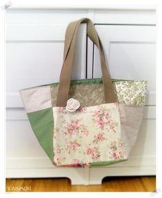 Eine Shopper-Bag - genau das richtige Geschenk zum Muttertag - #stofffürmutti