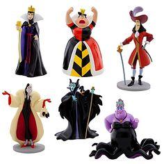 Disney Villains Figure Play Set -- 6-Pc. $12.50 or 2 for 20.00