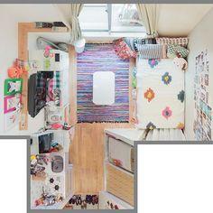 狭いお部屋を有効に自分らしく♡一人暮らし&ワンルームインテリア | folk