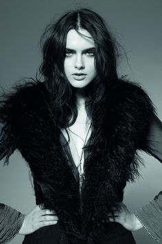 Zuzana Gregorova by Fred Meylan for Zadig & Voltaire fall winter 2010-2011