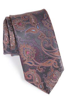 Ermenegildo Zegna Paisley Silk Tie available at #Nordstrom