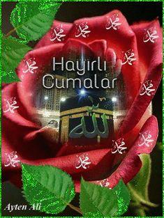 Islamic Images, Islamic Art, Jumma Mubarik, Islamic Wallpaper Hd, Rose Flower Arrangements, Image Center, Allah Calligraphy, Mubarak Images, Mekka