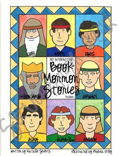 Interactive book on Book of Mormon for kids