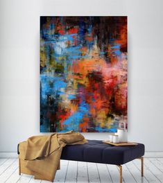 Extra Large Wall Art Palette Knife Artwork Original Painting,Painting on Canvas Modern Wall Decor Contemporary Art, Abstract Painting Abstract Wall Art, Canvas Wall Art, Wall Art Prints, Extra Large Wall Art, Large Art, Modern Art Paintings, Indian Paintings, Abstract Paintings, Oil Paintings