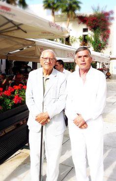 Nuestros queridos Pimpis: ¡Paco Campos y Pepe Cobos!