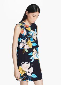 Mango Double layer dress   $80