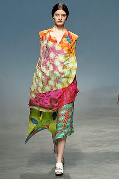 Issey Miyake - it's nice that someone is designing clothing for armless women!