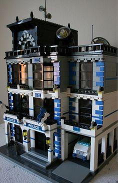 Modular Police Station by ezzkazz1, via Flickr